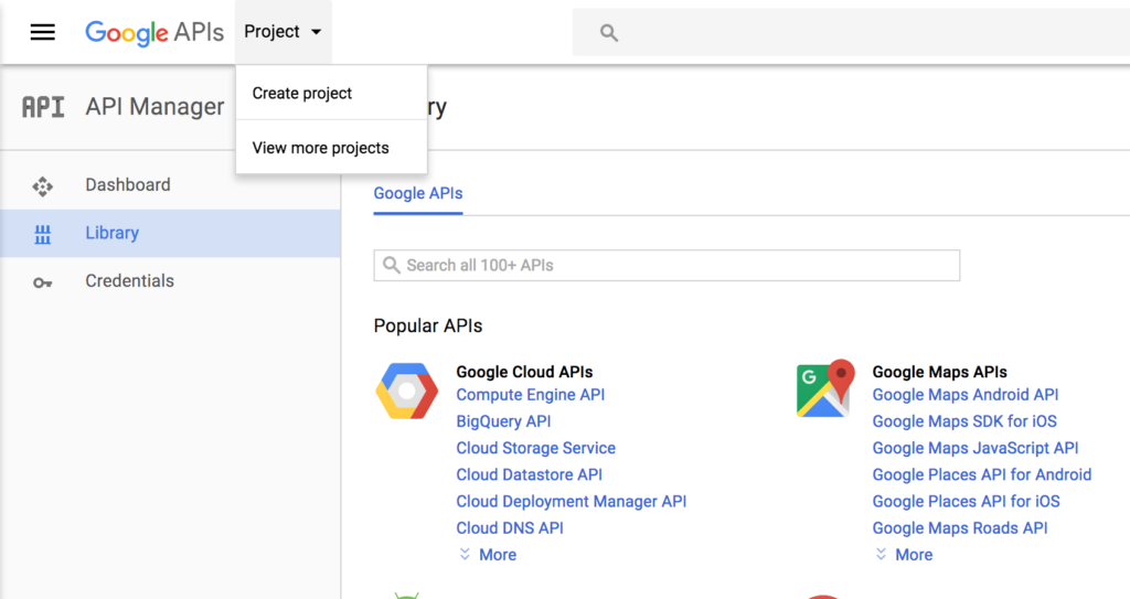 Using Google APIs with perl – Part 2: Credentials – Ledge Tech